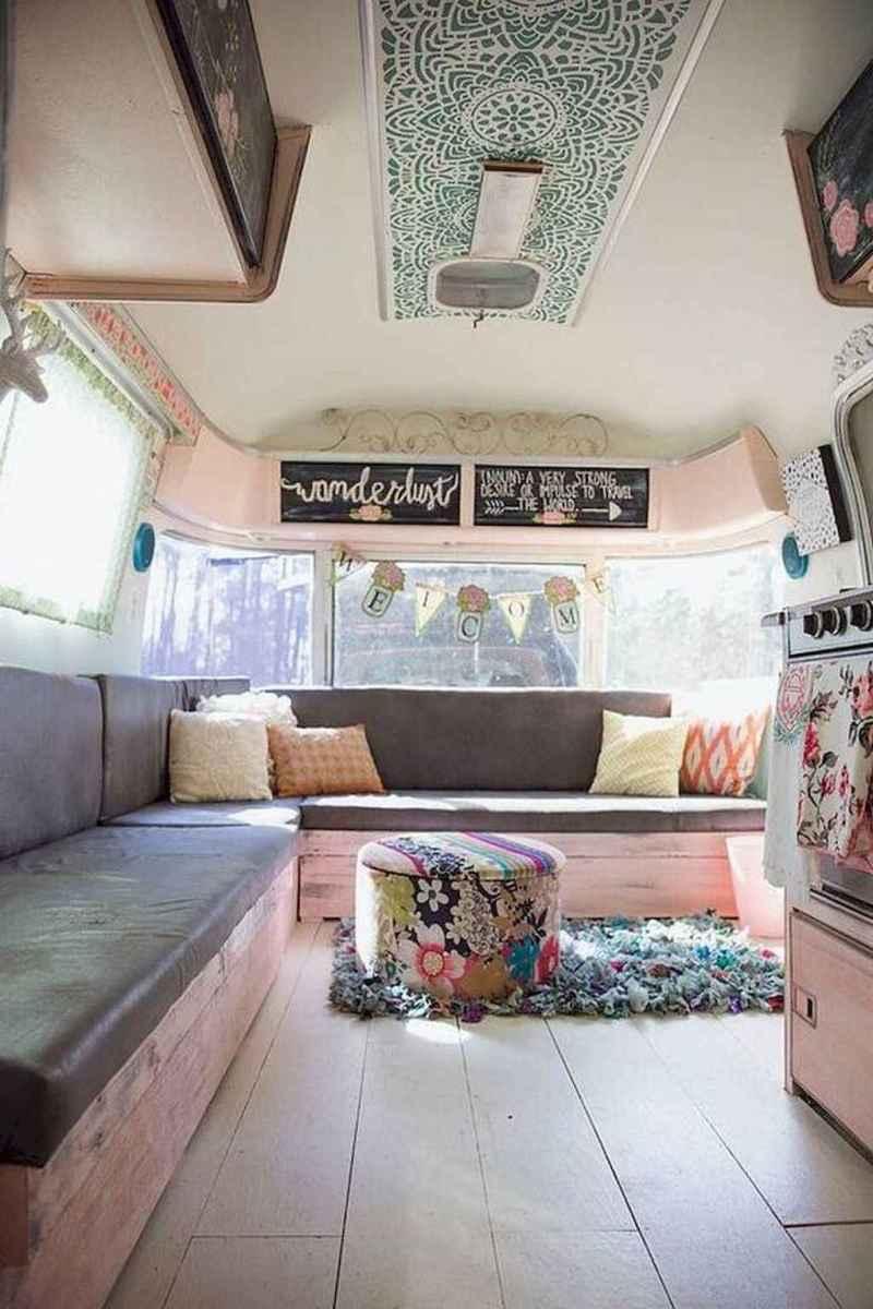 Best rv camper van interior decorating ideas (88)