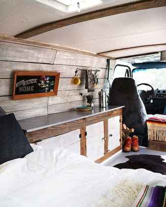 Best rv camper van interior decorating ideas (90)