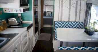 Best travel trailers remodel for rv living ideas (17)