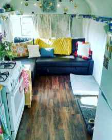 Best travel trailers remodel for rv living ideas (66)