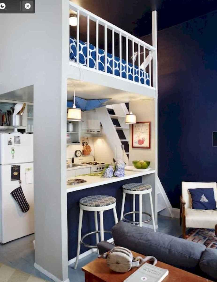 Creative loft stair with space saving ideas (10)
