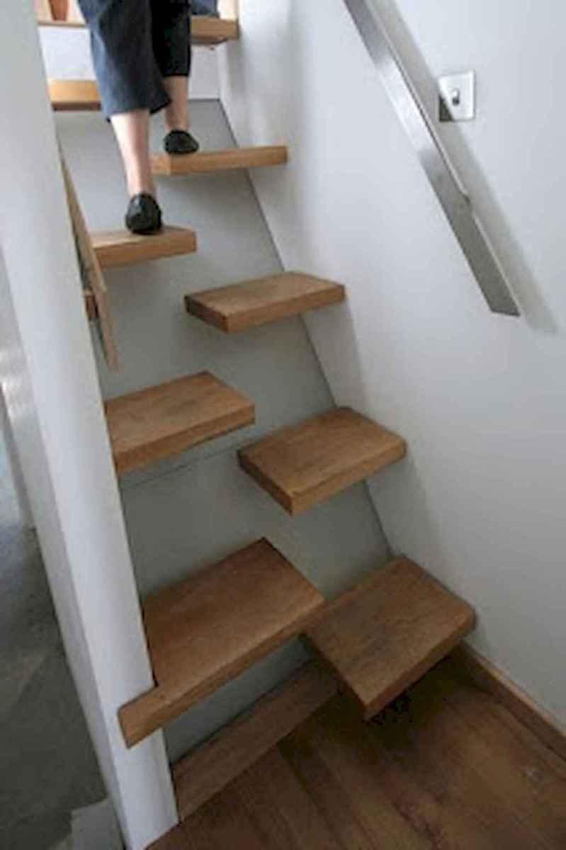 Creative loft stair with space saving ideas (49)