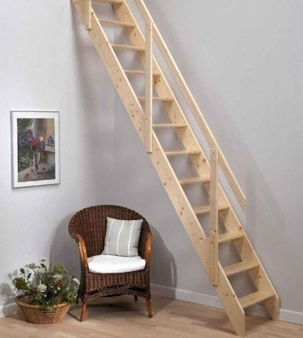 Creative loft stair with space saving ideas (52)