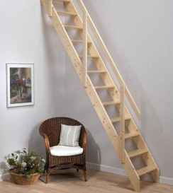 Creative loft stair with space saving ideas (52)