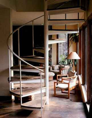 Creative loft stair with space saving ideas (60)