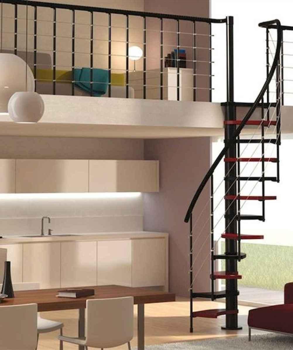 Creative loft stair with space saving ideas (75)