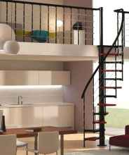 Creative loft stair with space saving ideas (75)