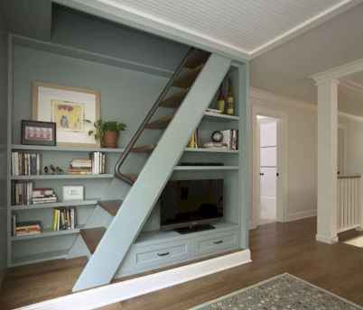 Creative loft stair with space saving ideas (79)