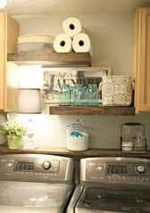 Farmhouse style laundry room makeover ideas (15)
