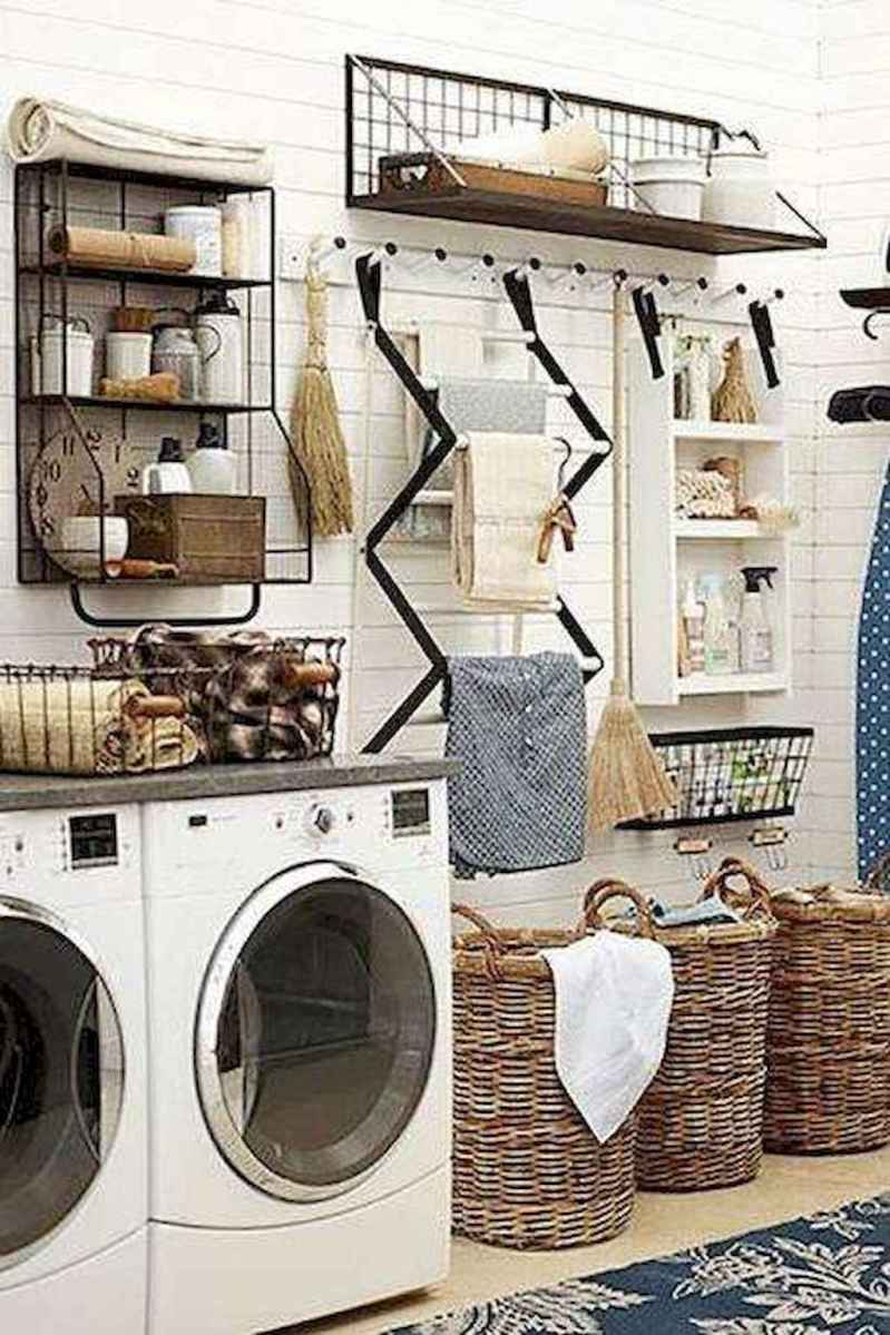 Farmhouse style laundry room makeover ideas (2)