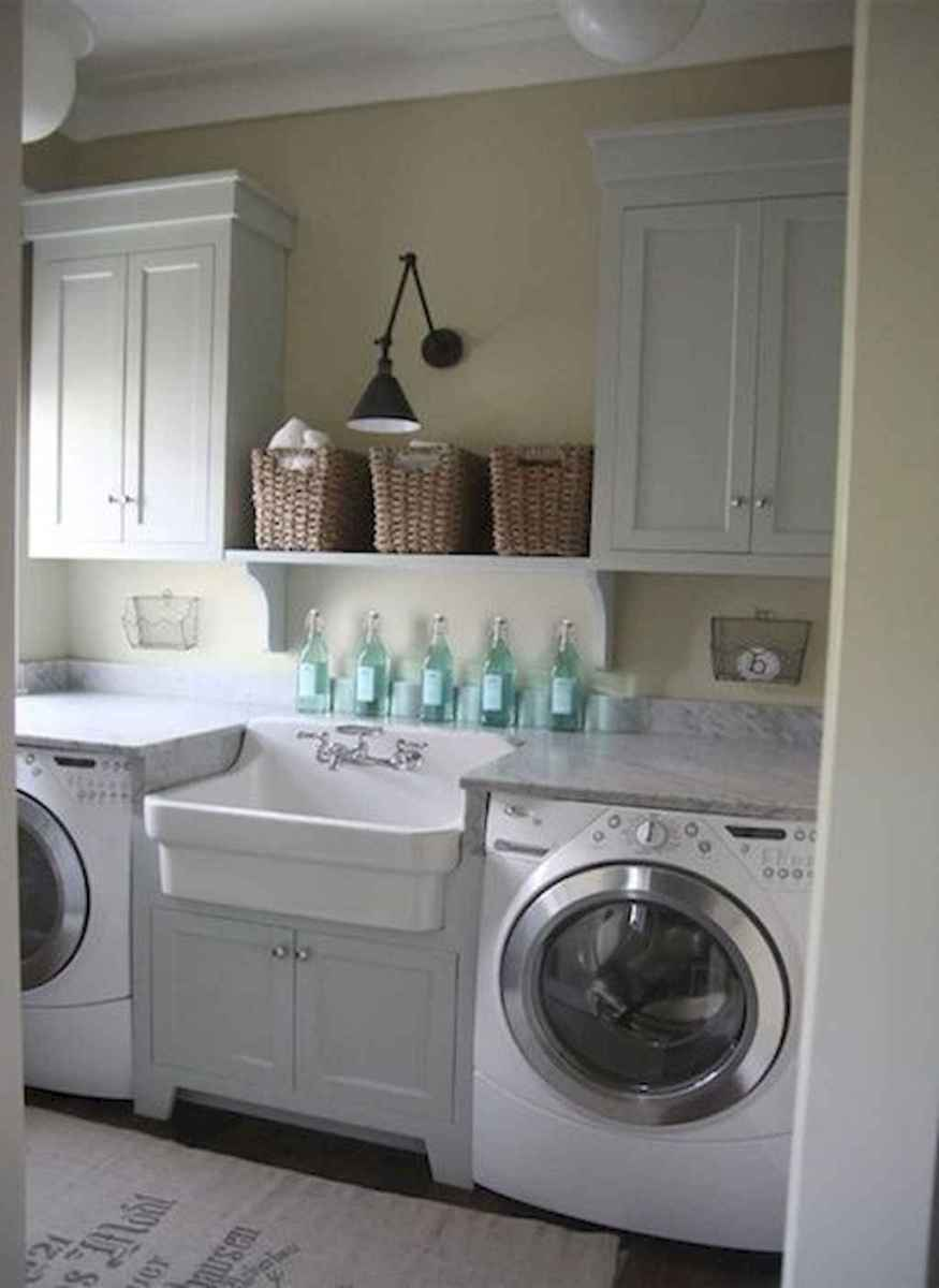 Farmhouse style laundry room makeover ideas (22)