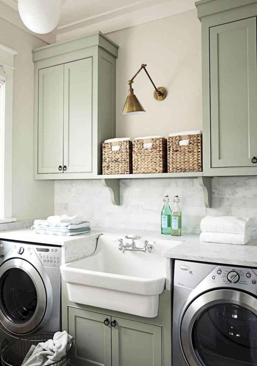 Farmhouse style laundry room makeover ideas (48)