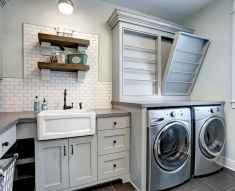 Farmhouse style laundry room makeover ideas (50)