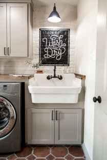Farmhouse style laundry room makeover ideas (6)