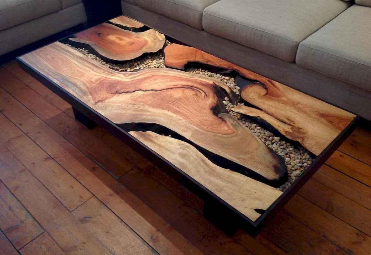 Rustic farmhouse coffee table ideas (46)