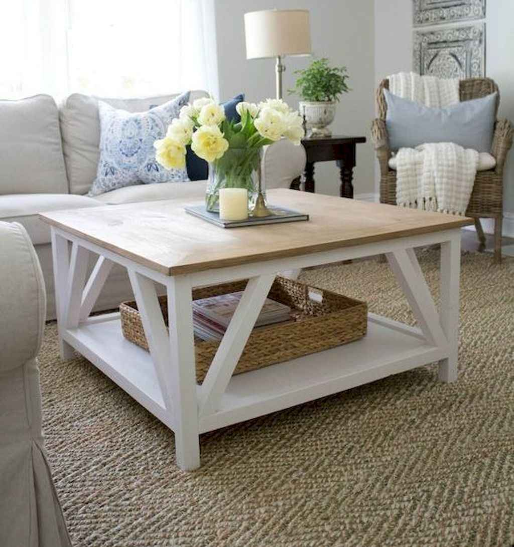 Rustic Farmhouse Coffee Table Ideas 62 Homespecially