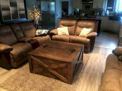 Rustic farmhouse coffee table ideas (68)