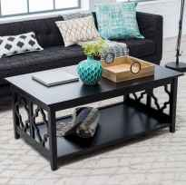 Rustic farmhouse coffee table ideas (81)