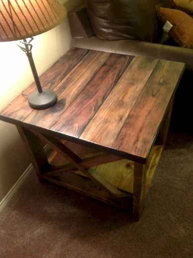 Rustic farmhouse coffee table ideas (86)
