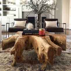 Rustic farmhouse coffee table ideas (87)