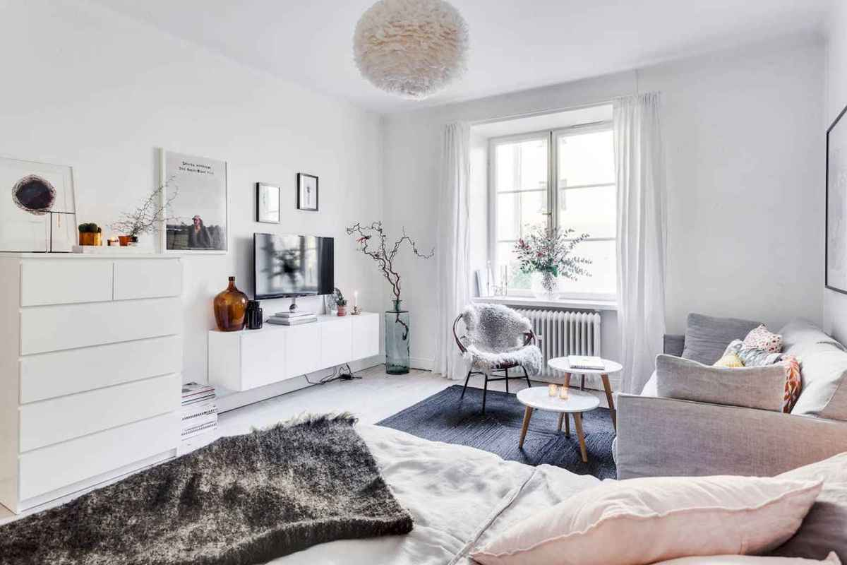 Small apartment studio decorating ideas on a budget (25)
