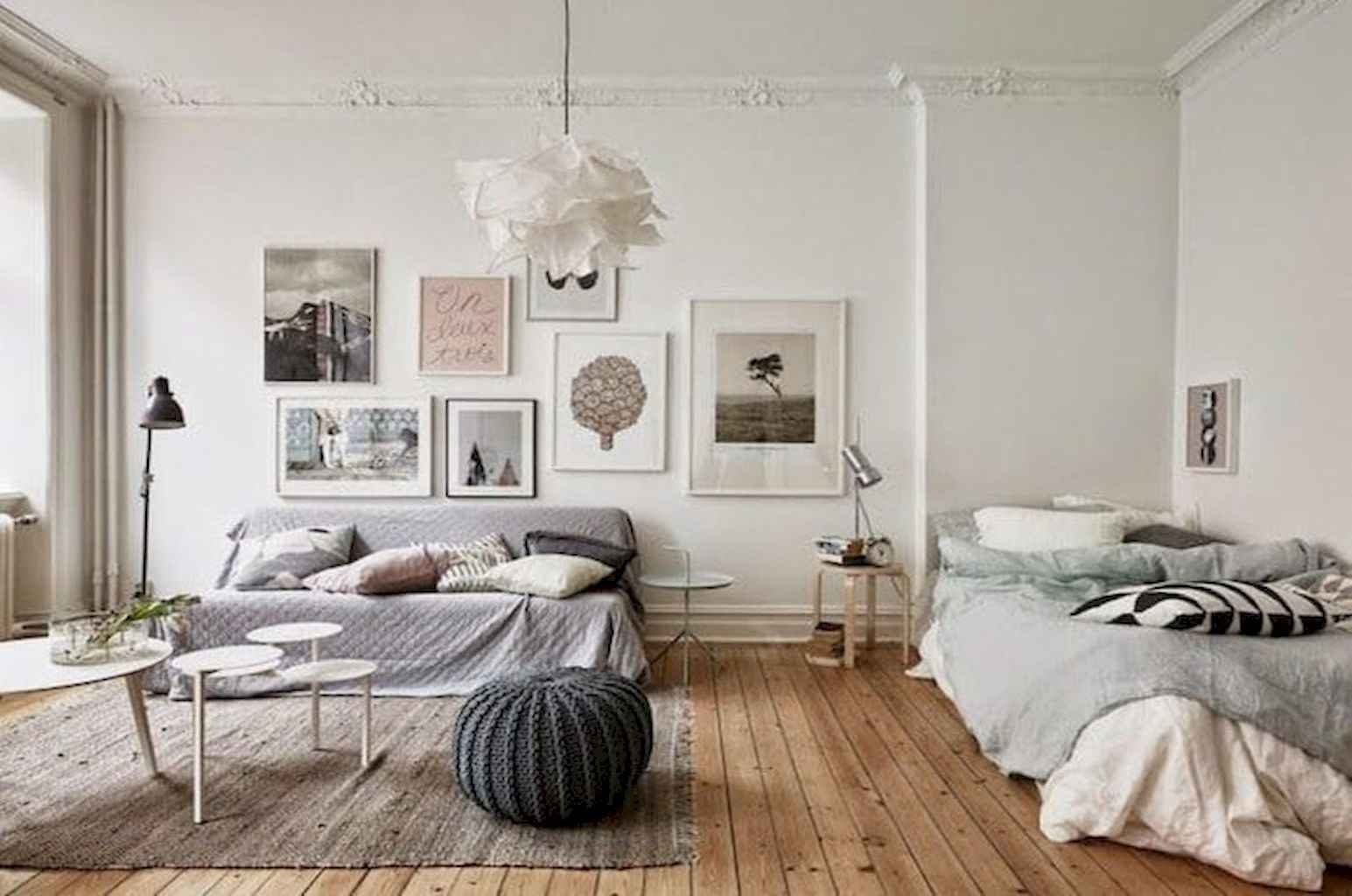 Small apartment studio decorating ideas on a budget (27)