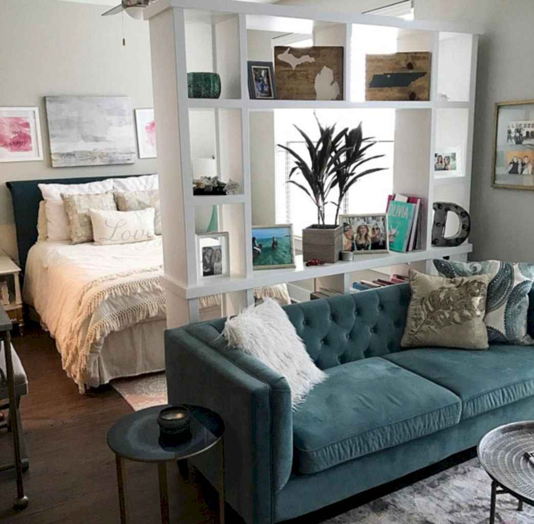 Small apartment studio decorating ideas on a budget (40)