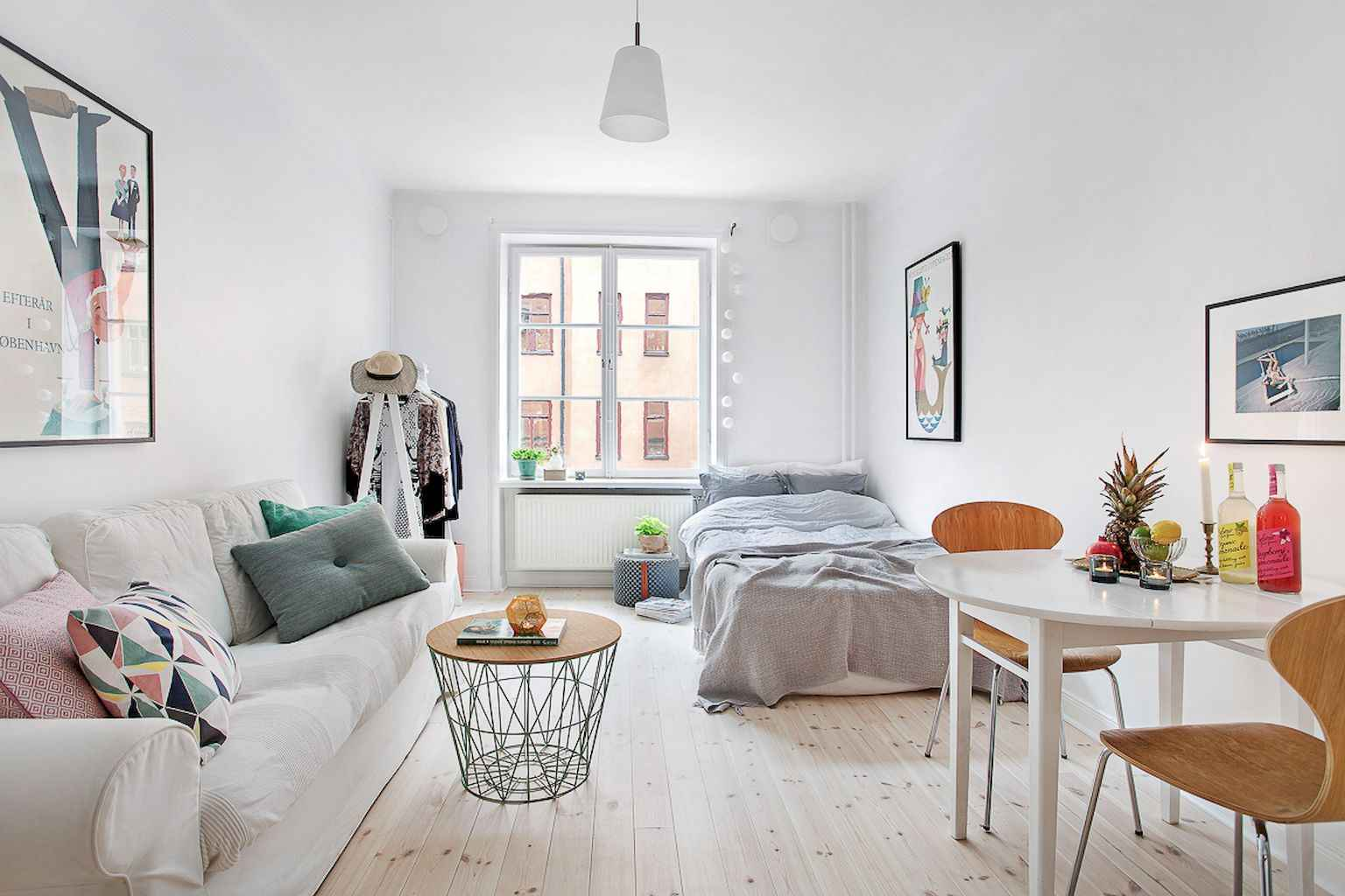 Small apartment studio decorating ideas on a budget (8)