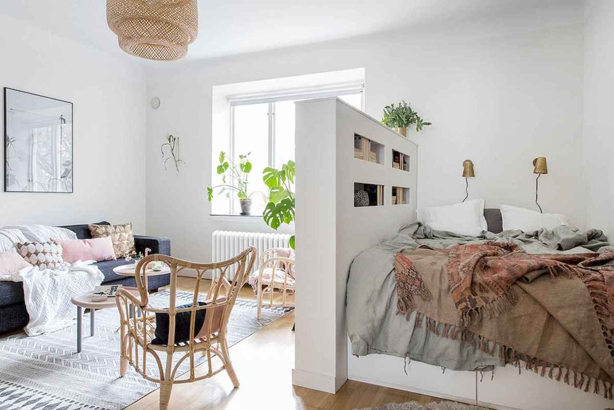 Small apartment studio decorating ideas on a budget (81)