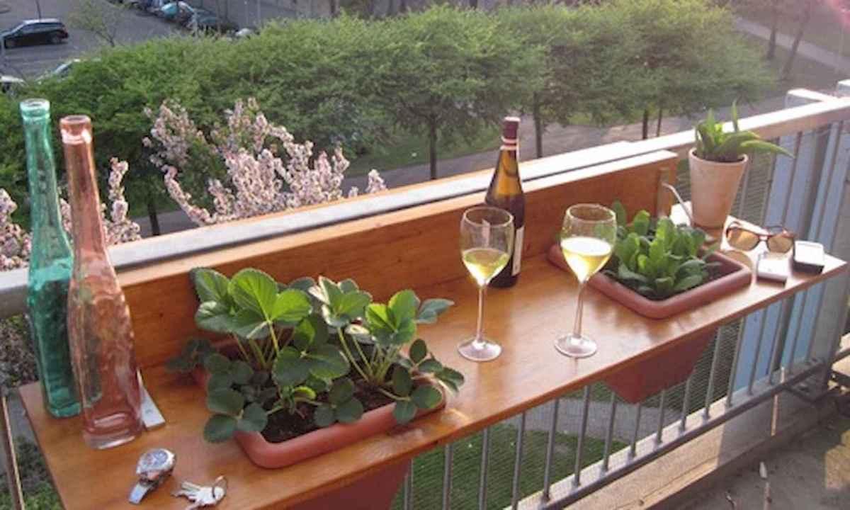 Small balcony decoration ideas (20)