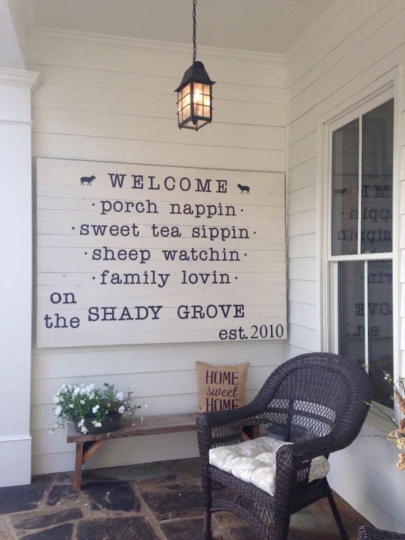 Vintage farmhouse porch ideas (49)