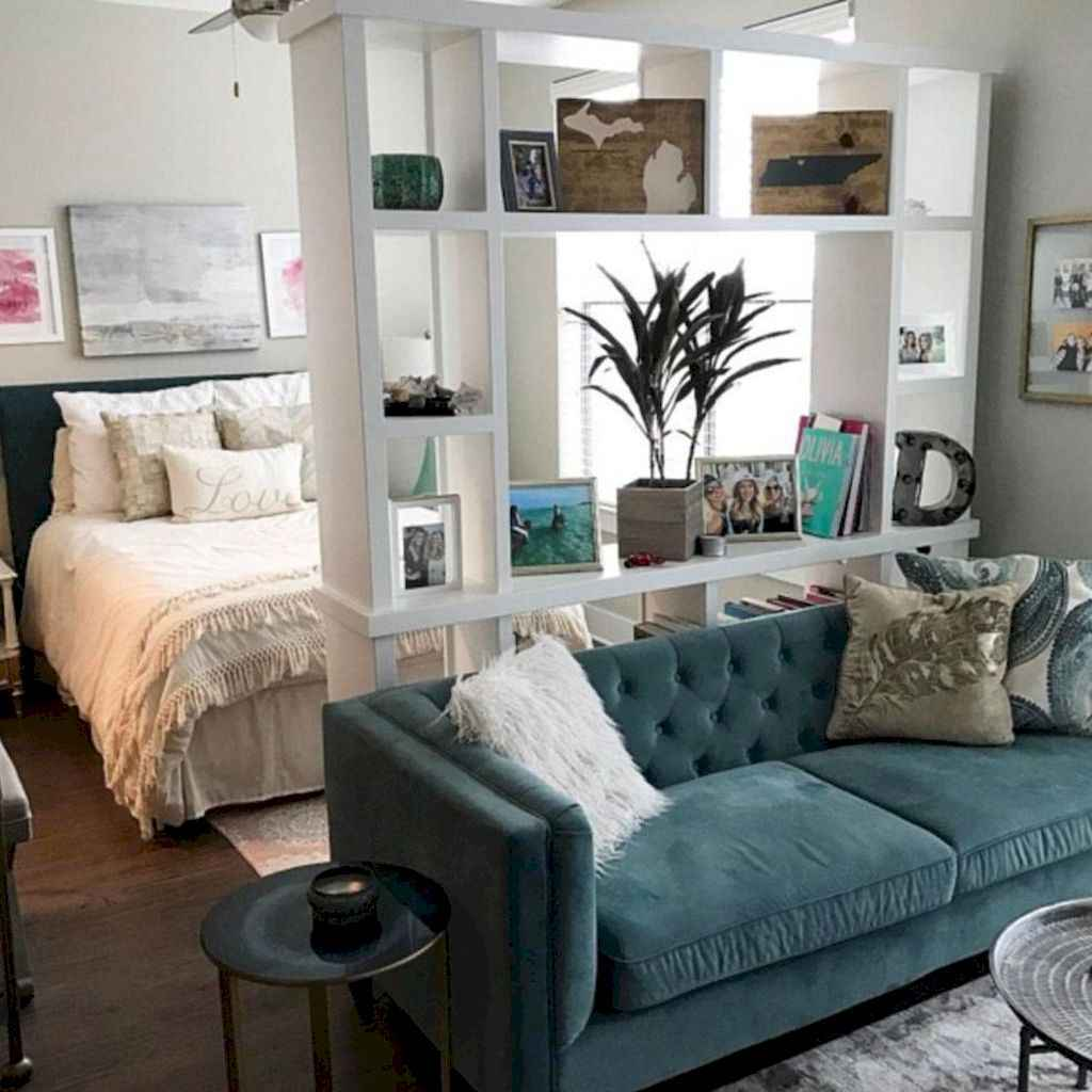 Amazing small first apartment decorating ideas (26)