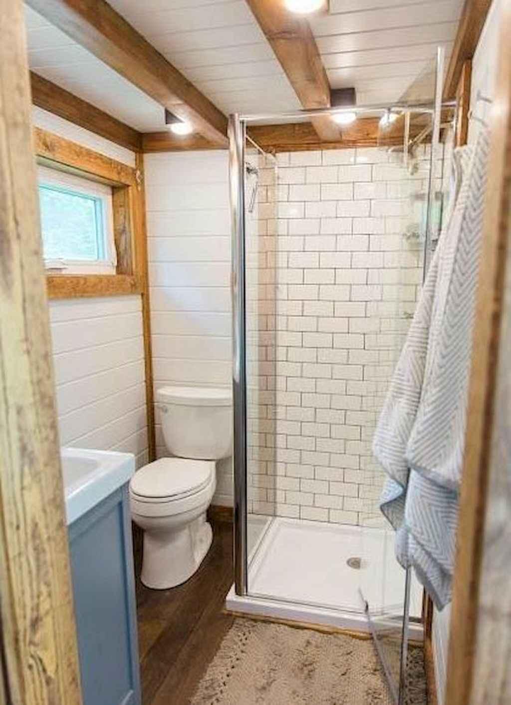 Amazing tiny house bathroom shower ideas (48) - HomeSpecially