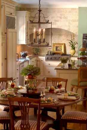 Beautiful french country dining room ideas (41)