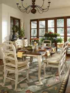 Beautiful french country dining room ideas (8)