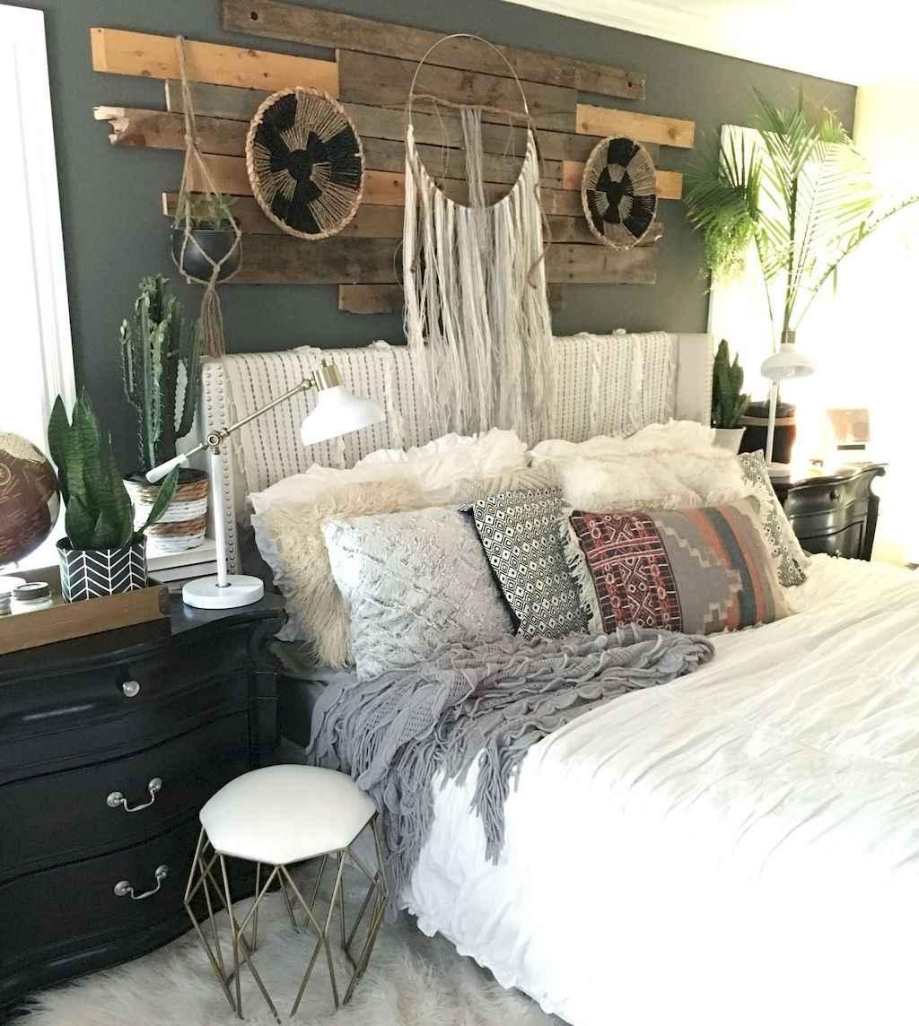 Bohemian style modern bedroom ideas (13)