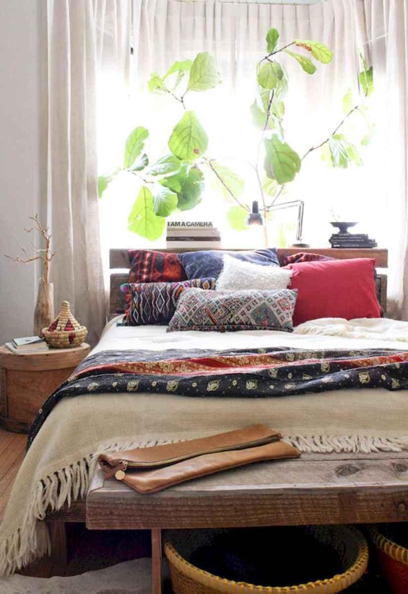 Bohemian style modern bedroom ideas (15)