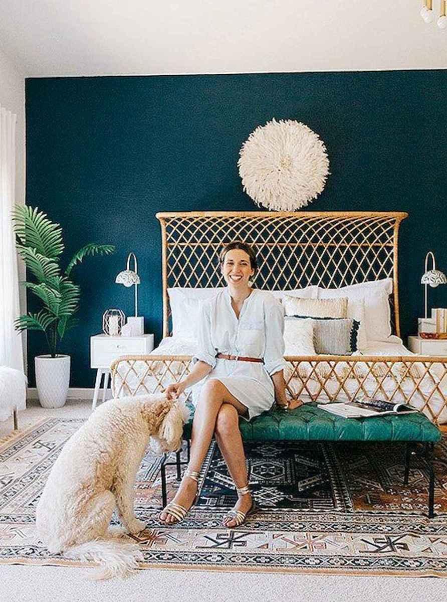 Bohemian style modern bedroom ideas (17)