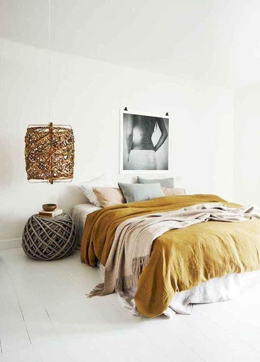 Bohemian style modern bedroom ideas (35)
