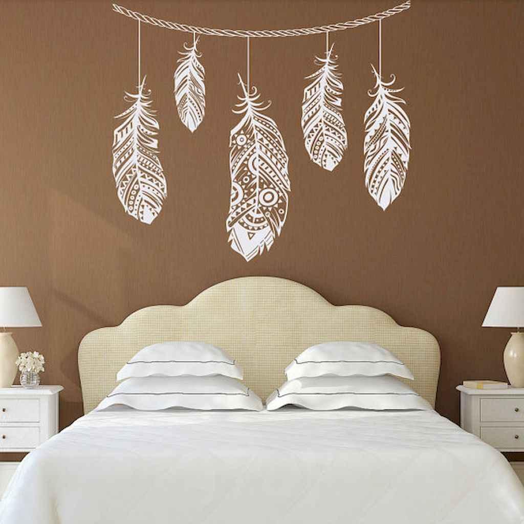 Bohemian style modern bedroom ideas (53)