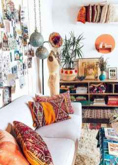 Bohemian style modern bedroom ideas (80)