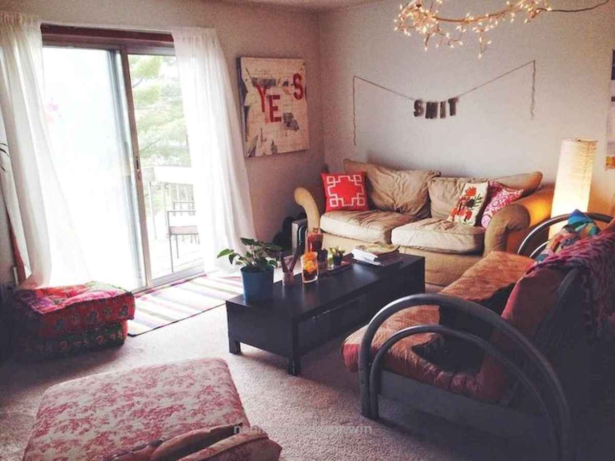 Clever college apartment decorating ideas on a budget (46)