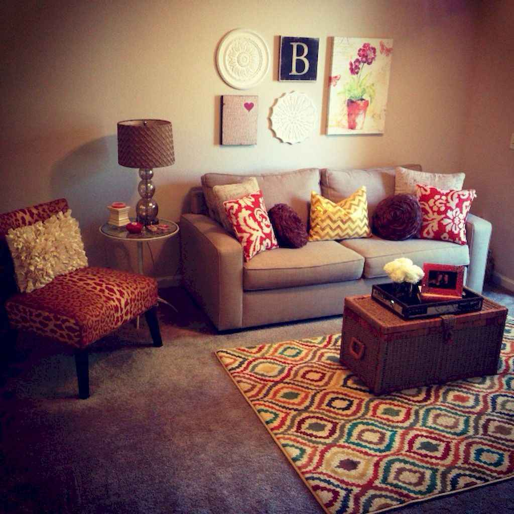 Clever college apartment decorating ideas on a budget (50)