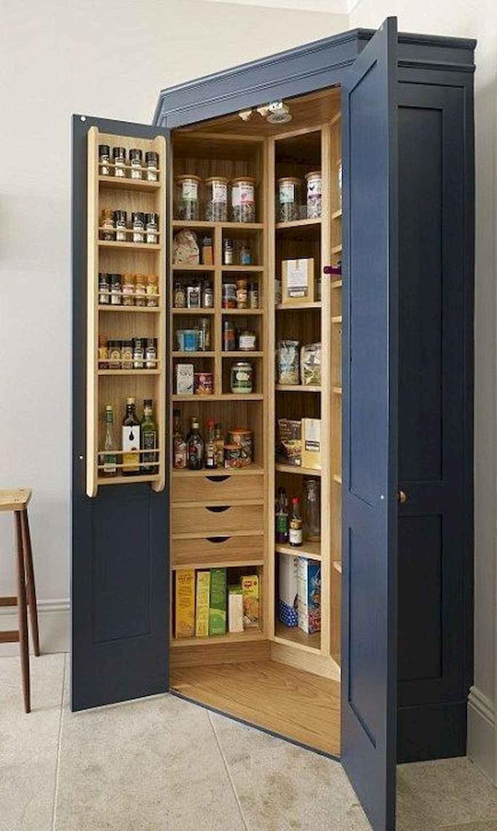 Gorgeous gray kitchen cabinet makeover ideas (30)