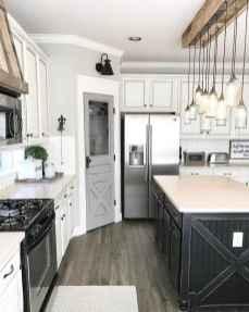 Gorgeous gray kitchen cabinet makeover ideas (52)