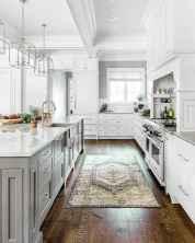 Gorgeous gray kitchen cabinet makeover ideas (81)