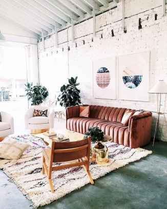 Modern bohemian living room decor ideas (31)
