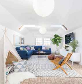 Modern bohemian living room decor ideas (33)