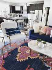 Modern bohemian living room decor ideas (44)