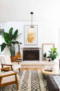 Modern bohemian living room decor ideas (54)